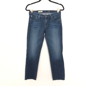 AG The Stilt Cigarette Jean Size 28R